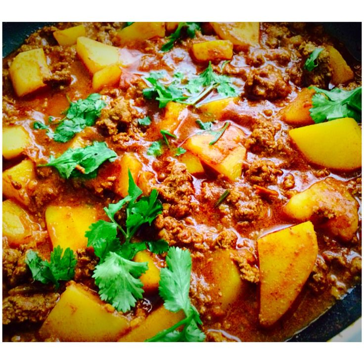Paleo Ostrich Mince Curry [Gluten free, Grain free, Dairy free] | Living Spot