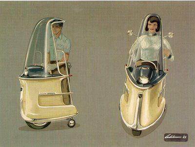 mono scootTransportation Devices, Monoscoot, Arbib, Artists Richard, 1965 Mono, Retro Future, Mono Scoot, Personalized Transportation, Concept Cars