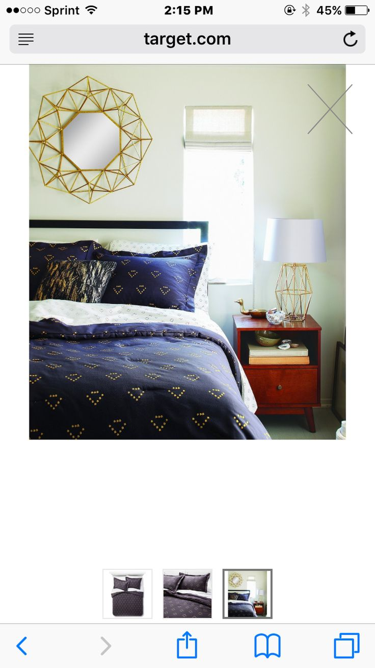 Home amp garden gt bedding gt comforters amp sets gt see more 7 pc faux fur - See More Navy And Gold Comforter Set At Target