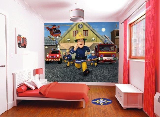 Fireman Sam Wall Mural   Liam Would LOVE This! Part 89