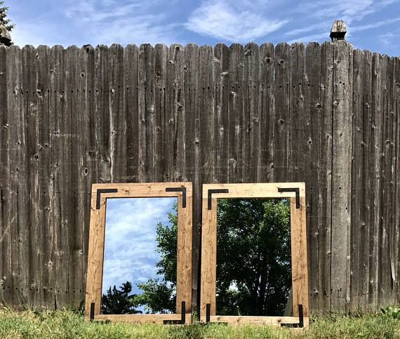 Framed Bathroom Mirrors Rustic 24 best rustic mirrors, framed bathroom mirrors, handmade mirrors