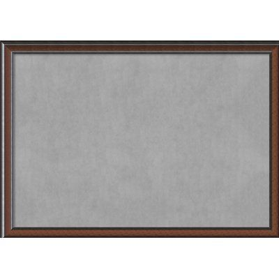 darby home co framed magnetic memo board size 39 h x 55 w