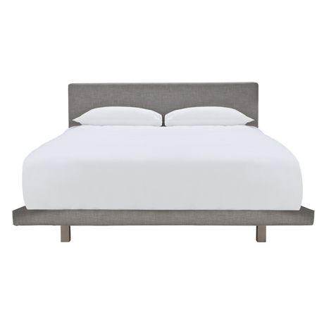 I love this bed, mine is on order :-) Simple upholsetered design, which floats above the floor. A great price for this look.