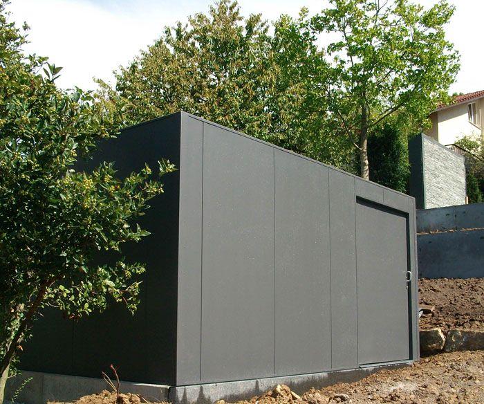 Design Garten- und Gerätehaus Metall