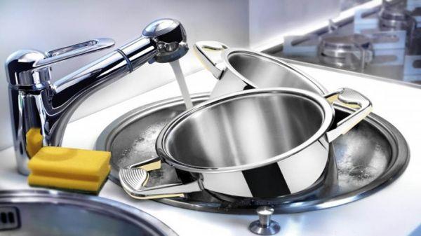 Народные способы чистки посуды до блеска