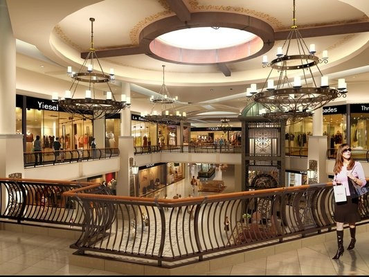 The Oaks Mall in Thousand Oaks - best suburban shopping (and also best place to see Britney Spears).