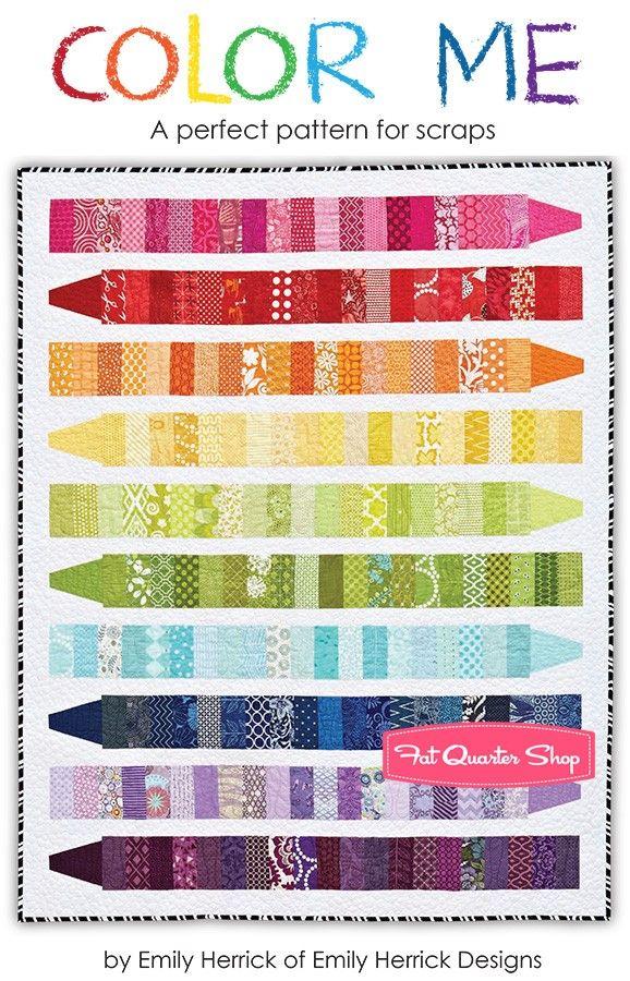 Color Me Downloadable PDF Quilt PatternEmily Herrick Designs | Fat Quarter Shop