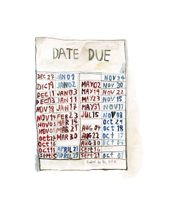 $40 // library card print by Julie Lequin on Etsy