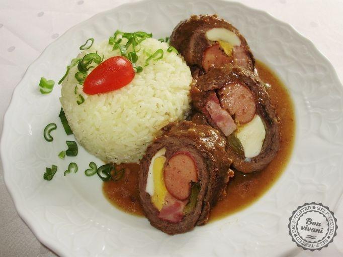 Španielské vtáčiky • bonvivani.sk - the favorite Slovak beef rolls (Slovak language)