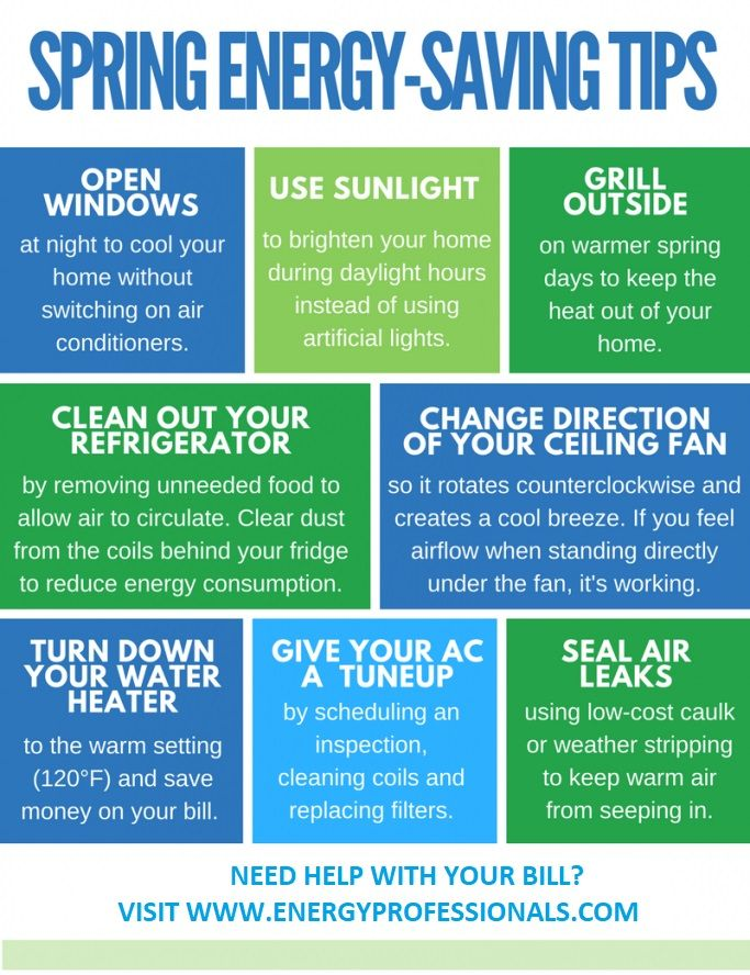 Save Your Energy And Your Money With These Energy Saving Tips For Spring And Summer Energy Professionals Cons Energy Saving Tips Save Energy Saving Tips