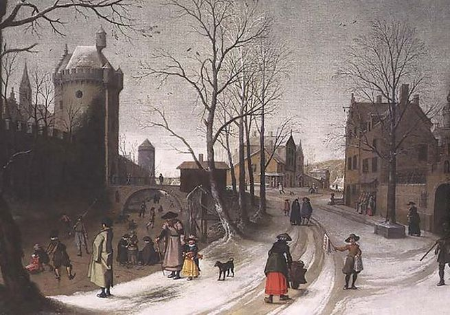 Sebastian Vrancx (1573-1647) Winter