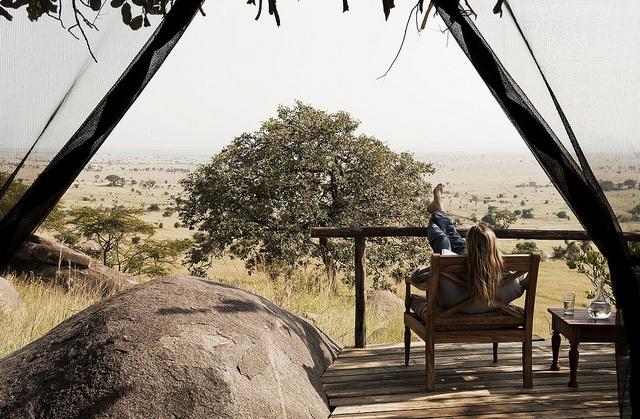 View from Lamai Serengeti room veranda by Nomad Tanzania InHouse Library, via Flickr