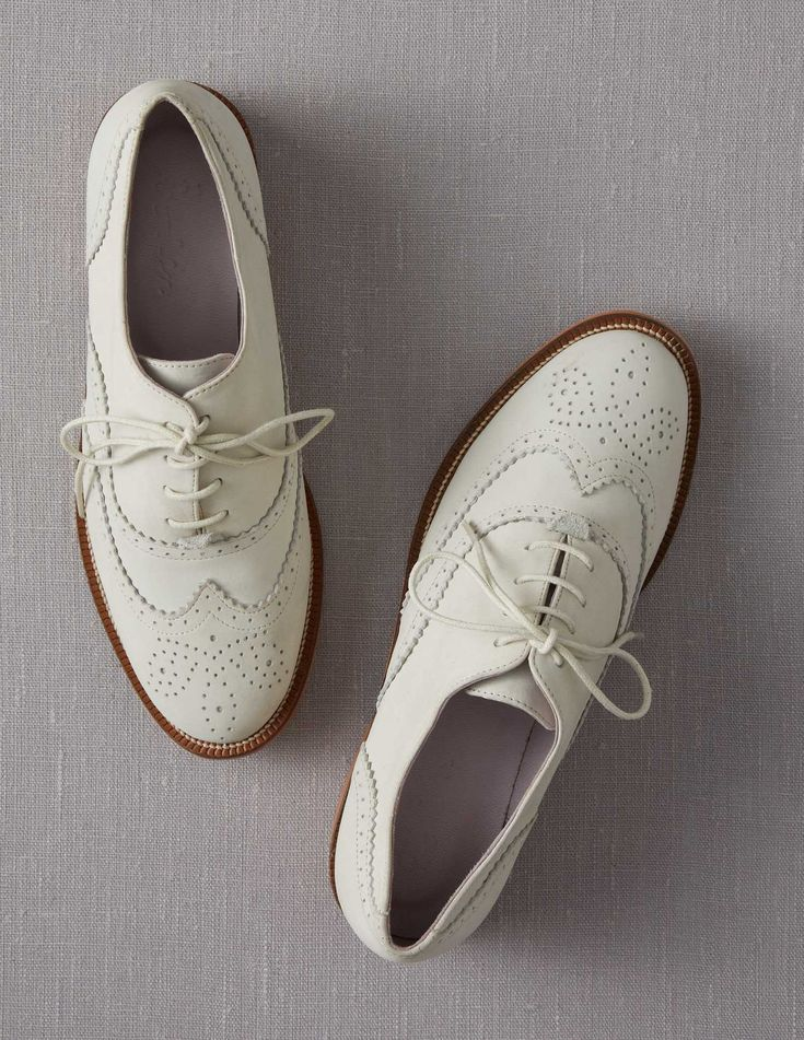 OMG!!!! I love these too! I have the gray pair from fall and will need these for sure!   Brogues  bodenusa.com