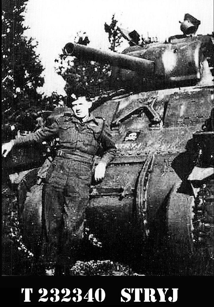 Sherman OP ,, STRYJ' porucznika Tarasa