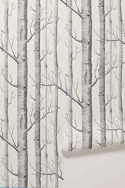 The Woods wallpaper--adore it
