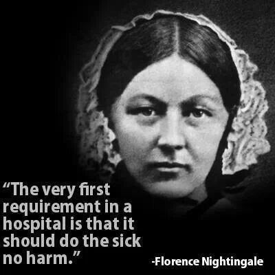 Florence Nightingale - When Florence Nightingale went to the Crimea to serve in hospitals, nurses were given little respect or priority. However, she helped to change attitudes to the nursing profession and implement new practices which helped to improve mortality survival rates.