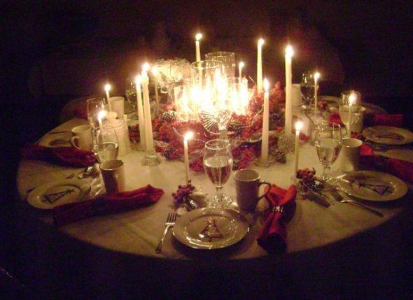 Christmas Tea Table Decoration Themes Christmas Tea