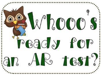 This file includes printables for you to create an AR reading sign up board for test takers.  I was becoming frustrated when students would interru...