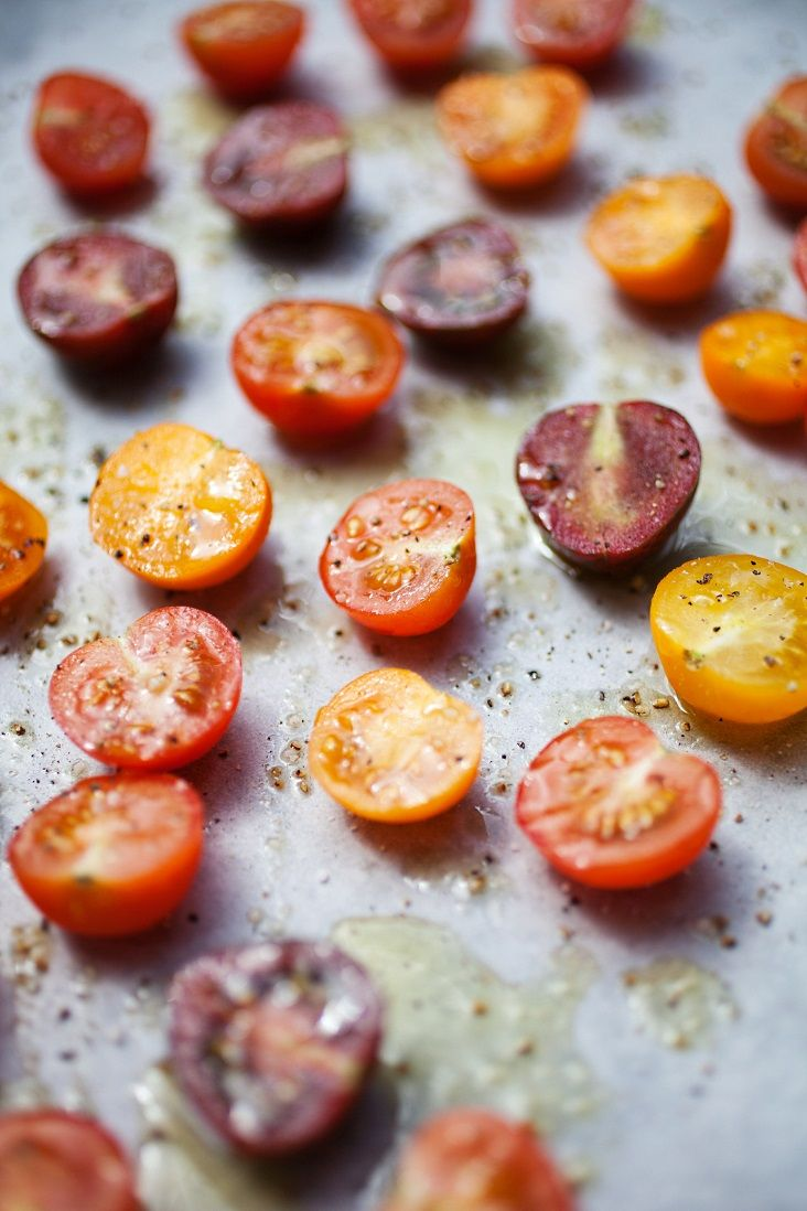 Roasted Tomatoes For The Freezer Recipe — Dishmaps