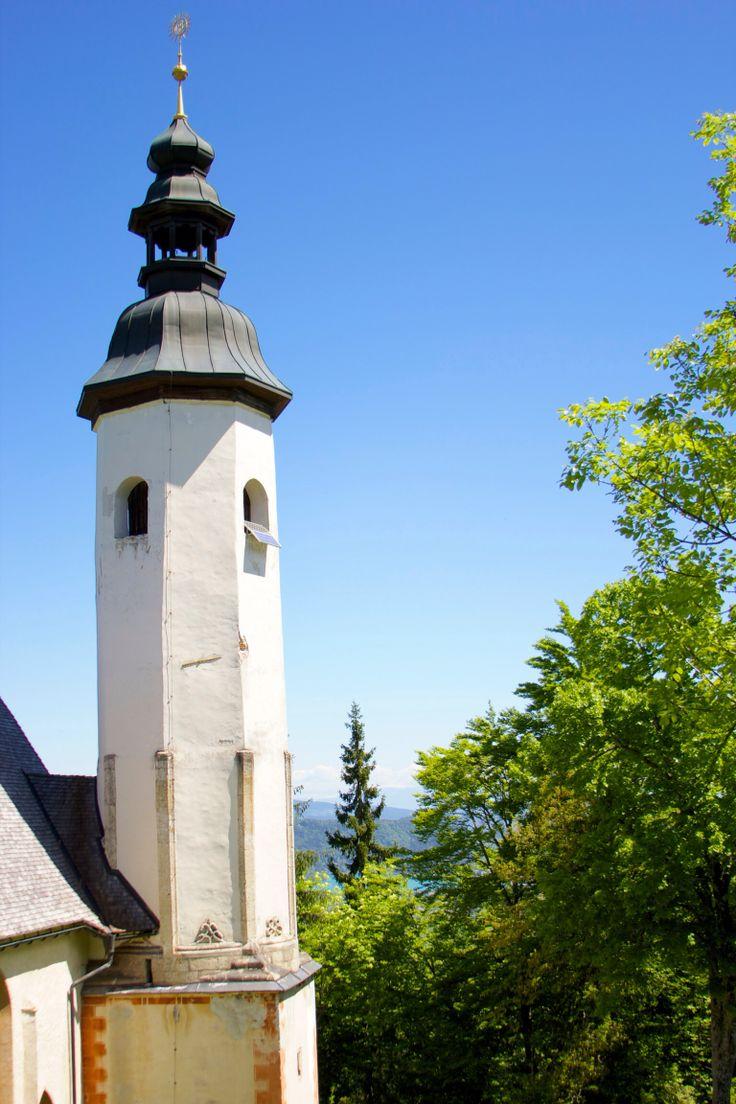Church on the Kanziani mountain near Finkenstein/Faaker See