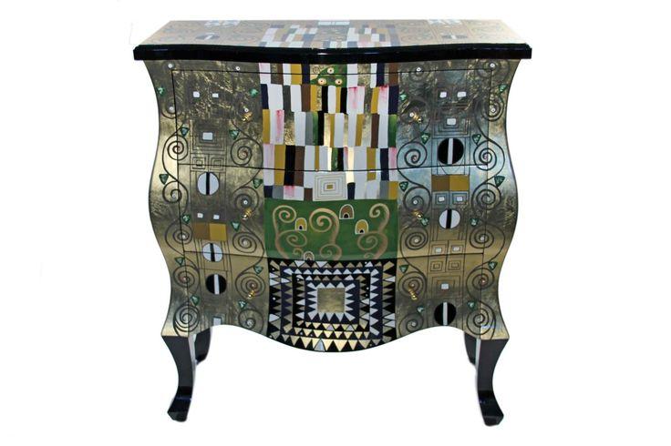 1000 bilder zu gustav klimt casa collection auf pinterest kunst gustav klimt und tvs. Black Bedroom Furniture Sets. Home Design Ideas