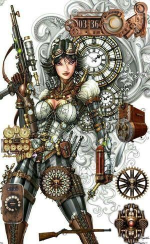 steampunk girl - Christine Boonzaaier 's Homepack   Homepack Buzz