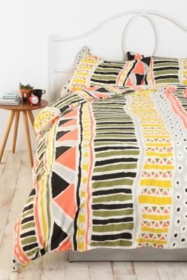 Want.: Bauhaus Stripes, Urban Outfitters, Guest Bedrooms, Bedspreads, Beds Spreads, Duvet Covers, Stripes Duvet, Dorm Rooms, Tribal Prints
