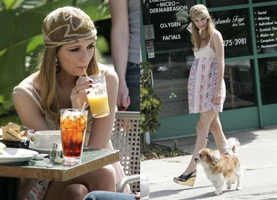 only because the hat mischa barton style | To get Mischa's look, read more