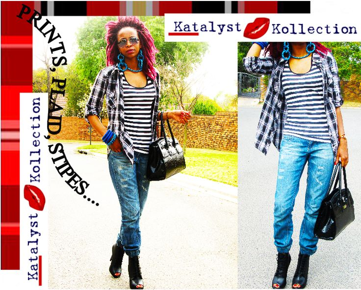 how to style you Blue Shweshwe accessories