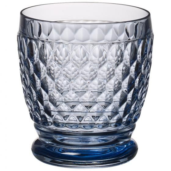 Boston Water Glass Villeroy Boch: Boston Coloured Water/cocktail Tumbler Blue Villeroy