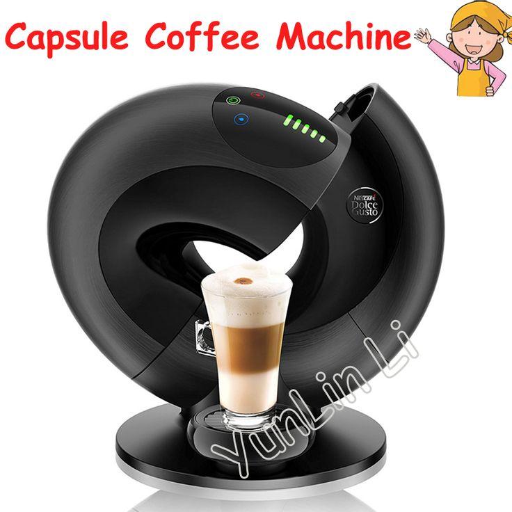 Automatic Capsule Coffee Machine Intelligent Touch Capsule Coffee Machine Italian Espresso Machine EDG736 #Affiliate