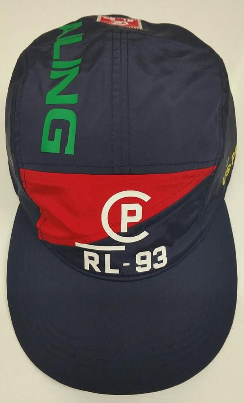 f3adadee641fb POLO RALPH LAUREN NAVY SAILING CP-93 STRAP BACK HAT