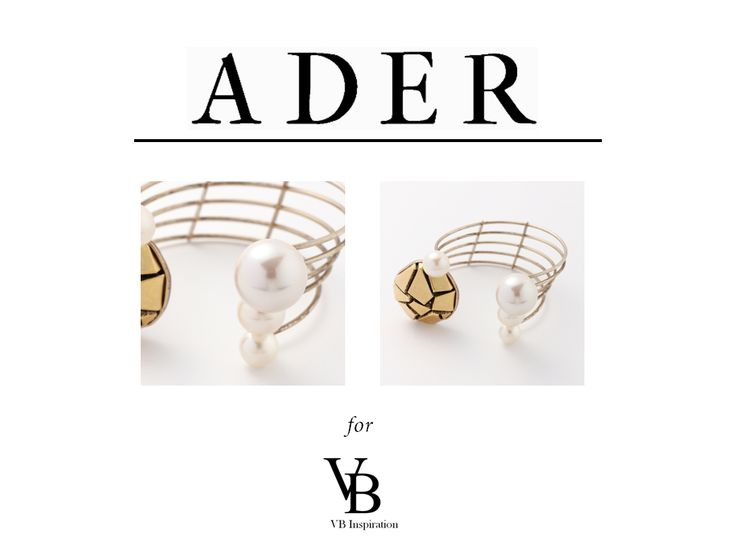From Japan, we introduce you ADER! Handcrafted jewels with exclusive design, made with vintage an unique elements!