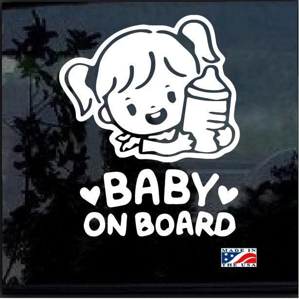 Graphics Customize Girl Window Baby Car Sign Decal PRINCESS ON BOARD Stickers