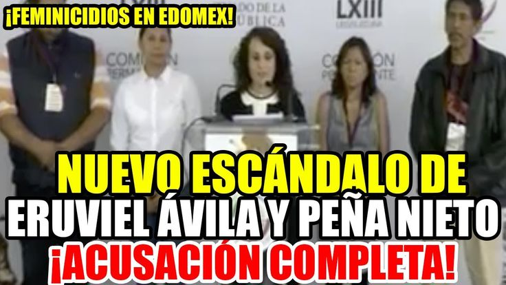 Senadora TUNDE a Eruviel Ávila lo acusa de ser el principal responsable...