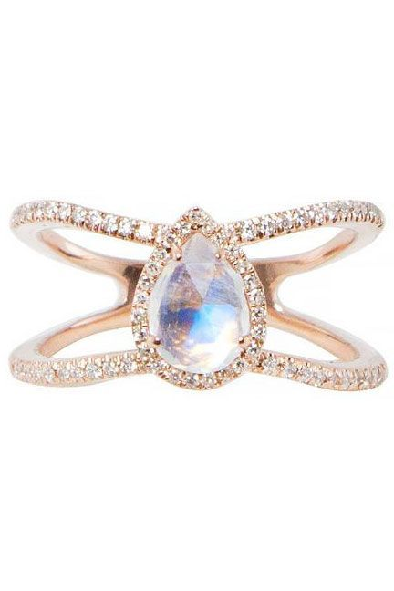 This rings perfectly incredible : The 5 New Engagement-Ring Trends Every Cool Bride Should See+#refinery29