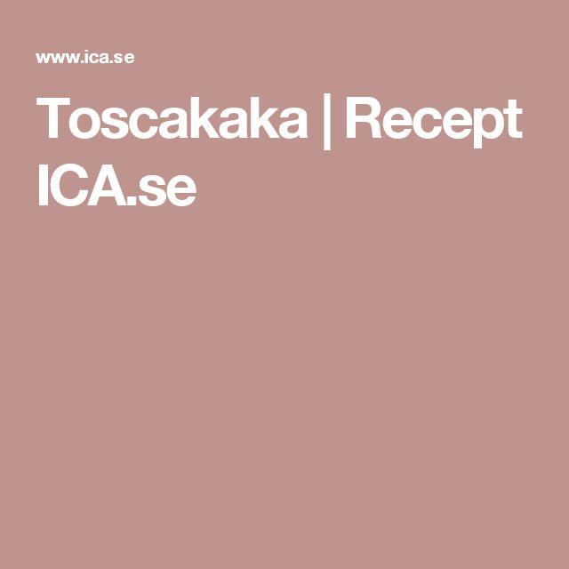 Toscakaka   Recept ICA.se