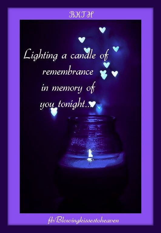Quotes On Loss: Keeping A Candle Lit In Memory Of My Angel In Heaven