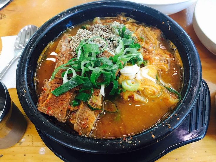 South Korean Food You Should Try - Gamjatang
