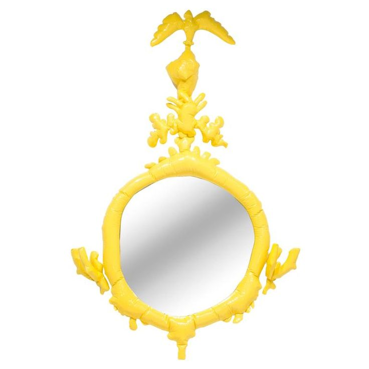 "Misha Kahn, ""Saturday Morning Series, Yellow Wall Mirror,"" 2015 
