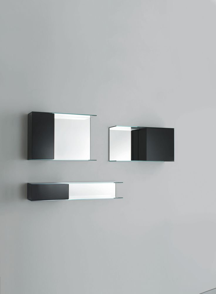 FLOAT WALL Design Patrick Norguet | Series Of Hanging Display Units With A  Push Pull