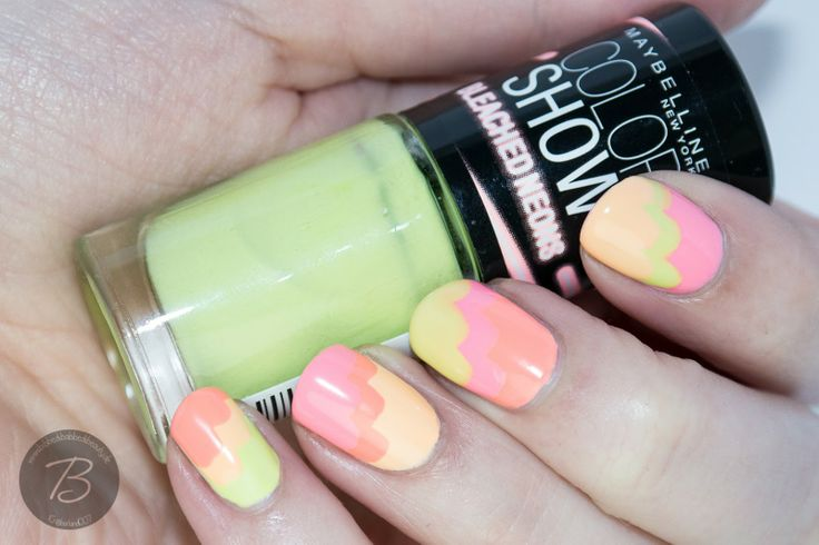 Maybelline Bleached Neons   Sommerlooks und Giveaway