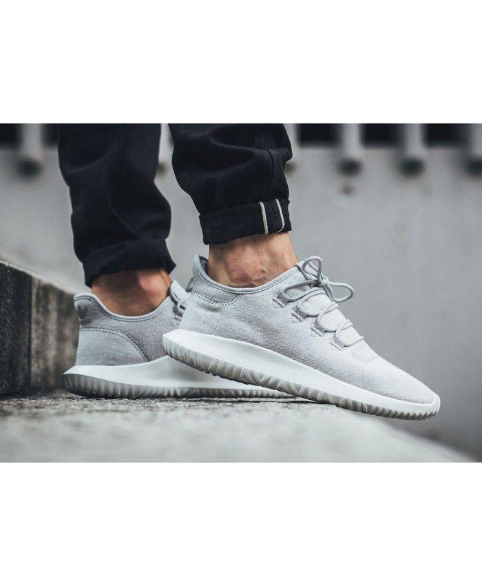 18596f878dd3 Adidas Tubular Shadow Grey Crystal White Shoes