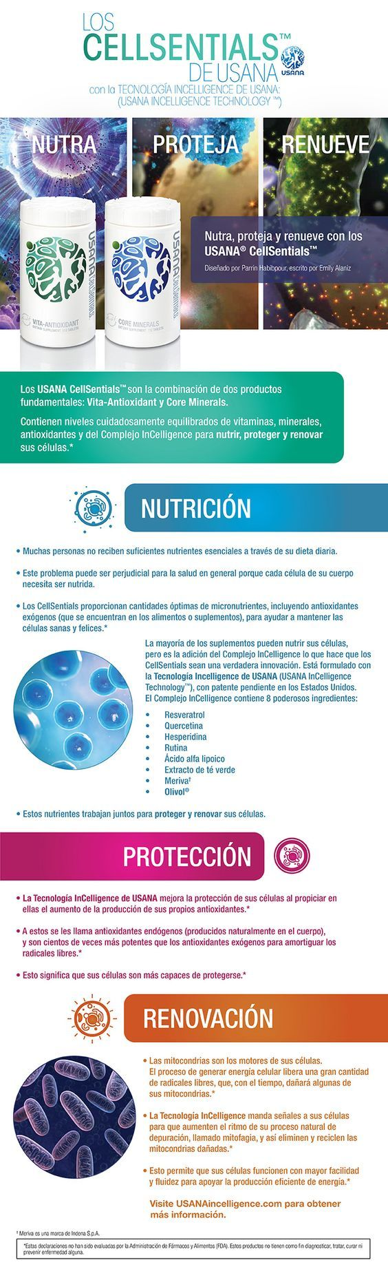 Infografía: Los USANA® CellSentials™ // What's Up, USANA?