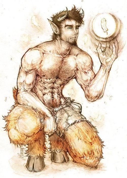 Порно рисунок сатир, порно картинки со светой букиной