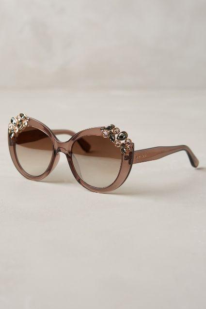 cheap jimmy choo sunglasses 3jlz  Jimmy Choo Megan Jeweled Sunglasses