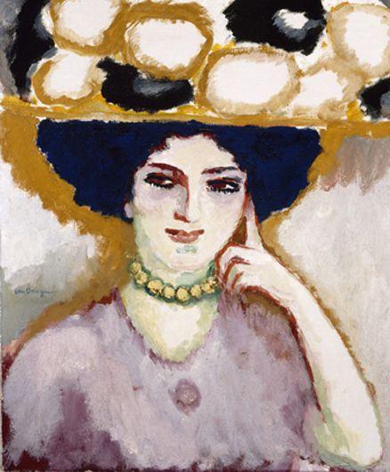 Kees van Dongen 'Stella with a Hat'