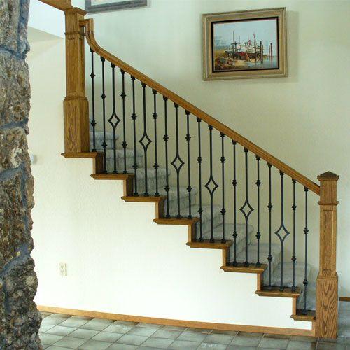 Diamond stair balustrade