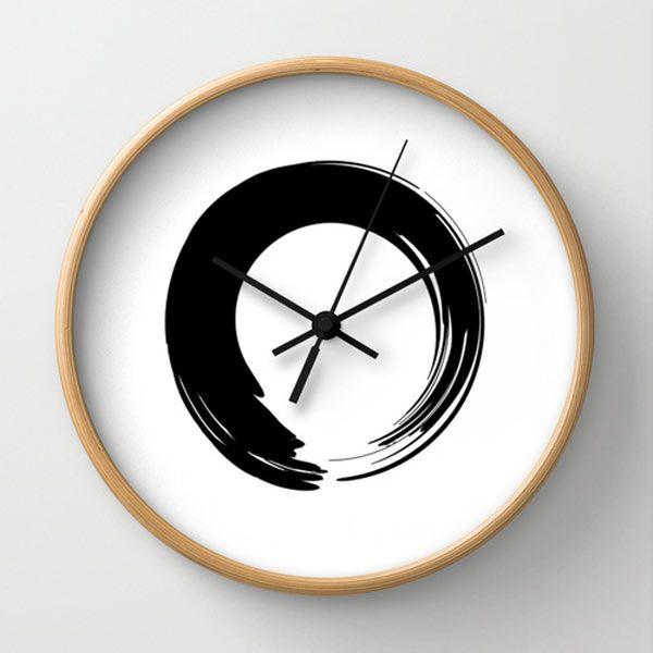 Zen wall clock by Hellena