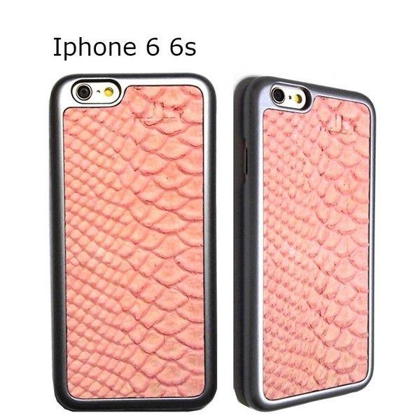 mabba マッバ ドイツ の ストロベリー スネーク 模様 The Snake Strawberry iPhone 6 6s Hulle 本革 レザー ケース グレー カバー アイフォン 海外 ブランド